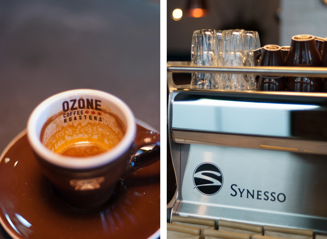 Ozone Coffee Roasters in Old Street, London