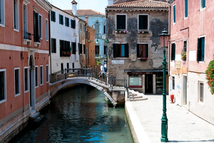 A day visiting Venice in Italy