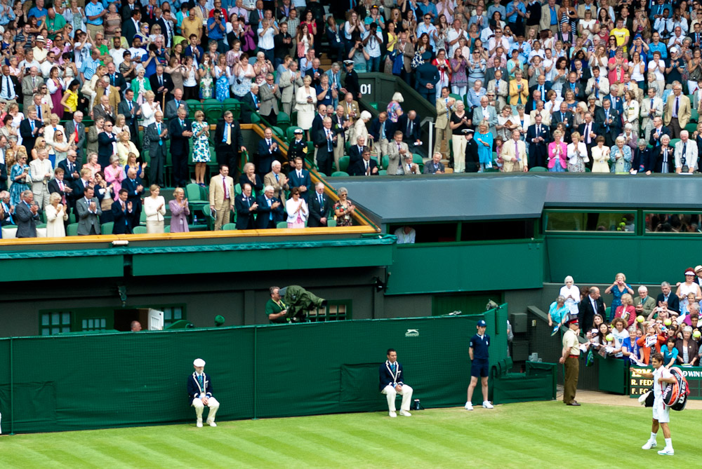 A day of tennis, food, coffee and English traditions at The Championships, Wimbledon in London